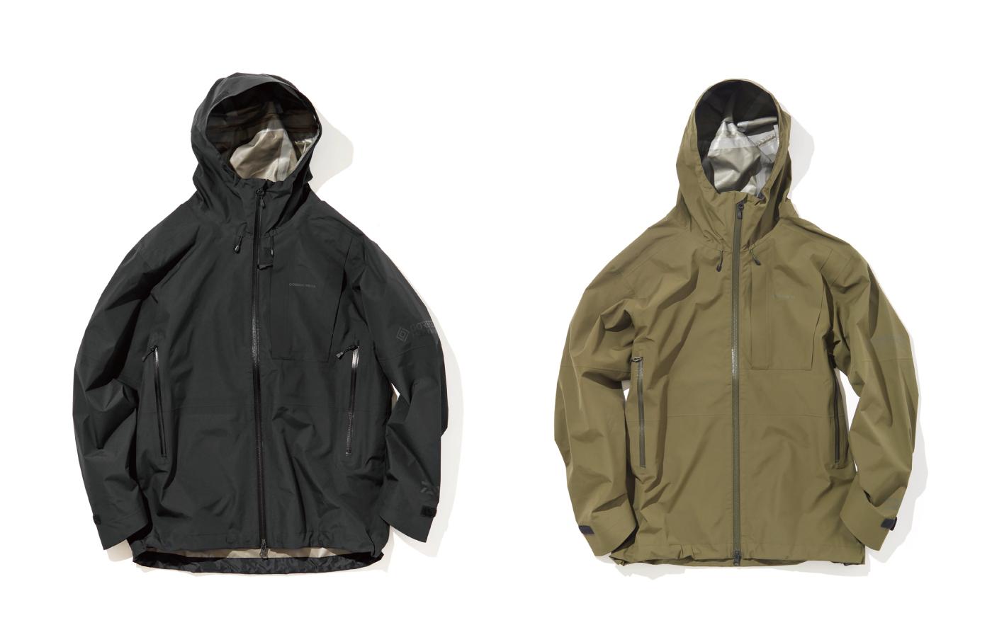 ゴアテックスのジャケット