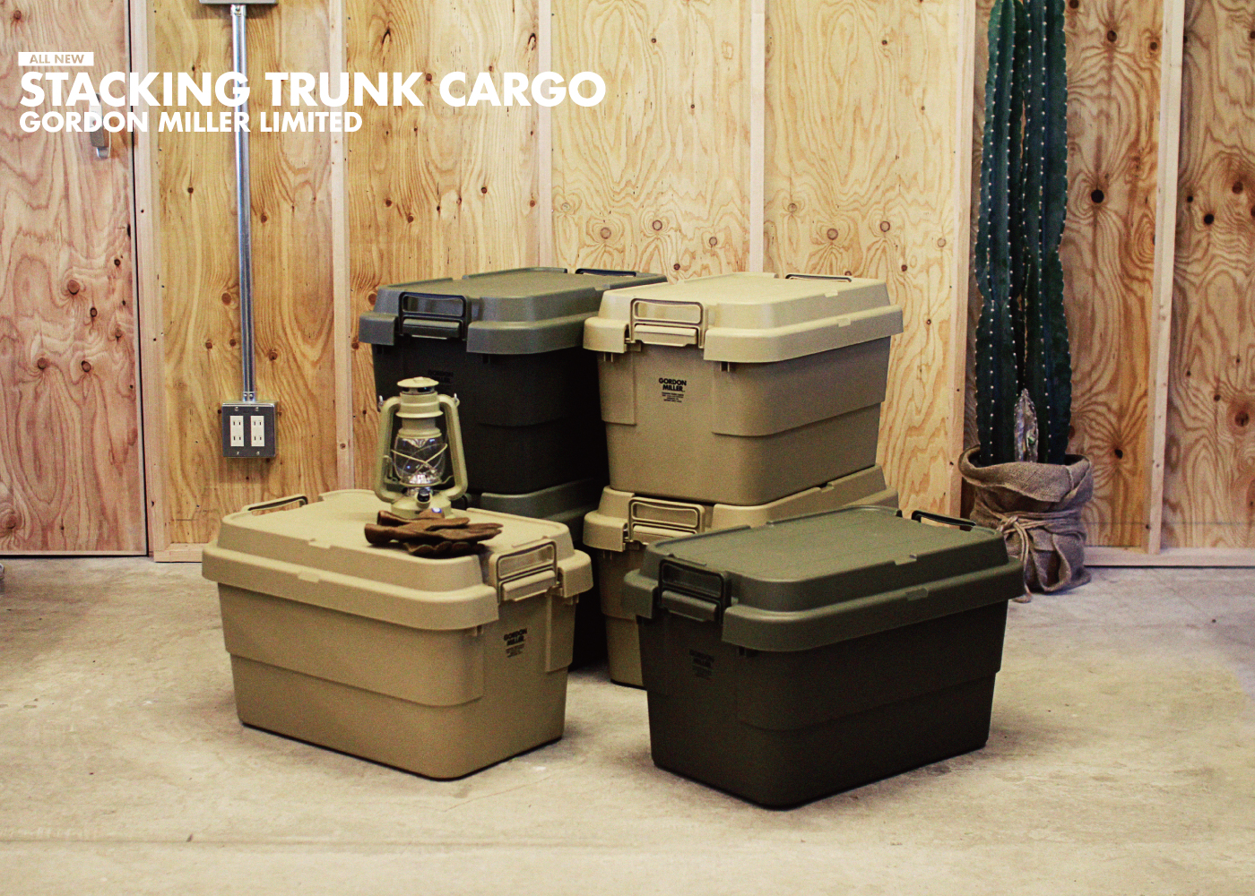 STACKING TRUNK CARGO | スタッキングトランクカーゴ